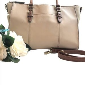 Tignanello Bag Brown and Tan Shoulder Hand Bag